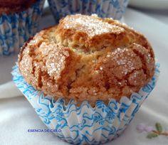 Essence of Heaven: Almond Cupcakes Sweet Recipes, Cake Recipes, Dessert Recipes, Bread Recipes, Almond Cupcakes, Spanish Desserts, Delicious Desserts, Yummy Food, Pie Pops