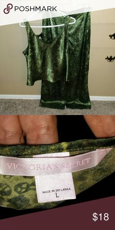 Victoria's secret pajama set Victoria's secret pajama set. It is in very good condition. Size large Victoria's Secret Intimates & Sleepwear Pajamas
