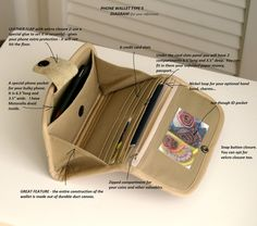 TYPE 5  Build your own phone wallet  for bulky by MrAndMrsWallet, $60.00