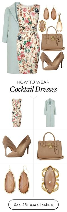 """Hint of mint"" by easy-dressing on Polyvore featuring Topshop, Lipsy, Michael Kors, Henri Bendel, Mixit, Christian Dior, women's clothing, women, female and woman"