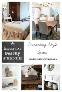 industiral beachy french style somuchbetterwithage.com