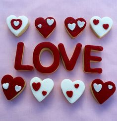 'LOVE' Biscuits