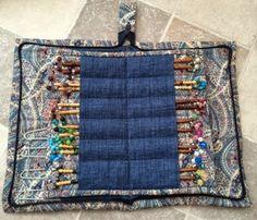 Craft House Magic: Bobbin lace cushion carry bag and bobbin case