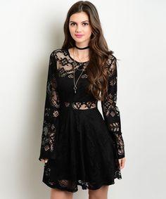 #EnvíoInmediato: Vestido negro #encaje