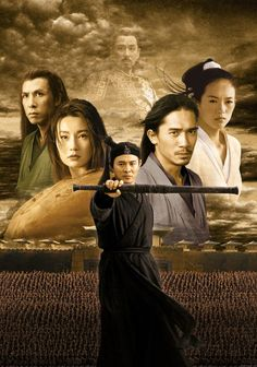 Hero - Jet Li, Not really my genre but pinned for it's extraordinary use of color and dramatic artistry of each scene.