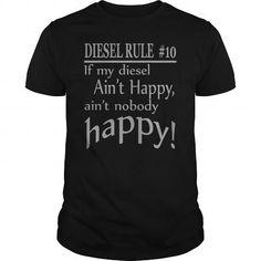 Awesome Tee DIESEL RULE #10 Shirts & Tees