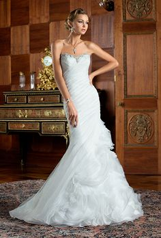 Brides.com: Kitty Chen - 2015 Wedding dress by Kitty ChenPhoto: Courtesy of Kitty Chen