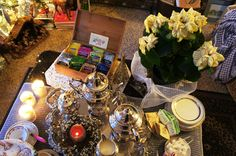 Creative ideas for hosting a Tea Party from @Rebecca E. Parsons