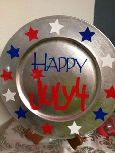 July 4th plate