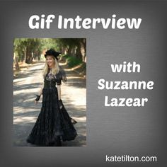 Gif Interview with Suzanne Lazear | Kate Tilton, Connecting Authors & Readers