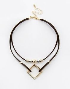 ASOS Open Shapes Choker Necklace