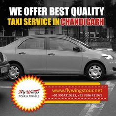 We Offer Best Quality Taxi Service in Chandigarh #Travel #Tour #Taxi #Chandigarh