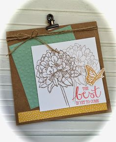 Laura's Creative Moments: BEST THOUGHTS- STAMPIN' UP!