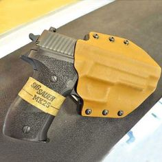 Kydex Outside Waist Band (OWB) Holster. www.carrypros.com