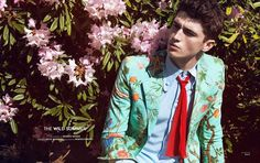 The Wild Summer Magazine: Men's & Young Men's Spring/Summer Fashion Style Mac Cosmetics, Men's Spring Summer Fashion, Models, Young Man, Summer 2016, Cover, Magazine, Blazer, Mens Fashion