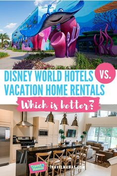 Trying to decide between renting a vacation home and booking a hotel for your Walt Disney World vacation? This analysis of the two lodging options will help you decide with is best for your family! Disney World Hotels, Walt Disney World Vacations, Family Vacation Destinations, Disney Resorts, Vacation Home Rentals, Disney Travel, Disney Destinations, Orlando Resorts, Family Vacations