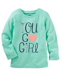 Baby Girl OshKosh Originals Graphic Tee from Carters.com. Shop clothing & accessories from a trusted name in kids, toddlers, and baby clothes.