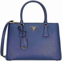 Tote - Borsa A Mano Saffiano Lux Bluette - blue - Tote for ladies Prada 4MDMpi2K