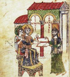 Paolo Diacono, Commento alla regola di San Benedetto, 914-934. Abbazia, Montecassino.