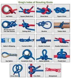 1000 Images About Gs Camping Knots On Pinterest Knots
