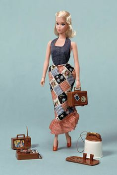 Busy Barbie, 1972 Even Barbie can get bogged down with modern appliances. More in Image: •