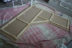 Corner desk made using a simple corner table top and two filing cabinets  beingBrook#Repin By:Pinterest++ for iPad#