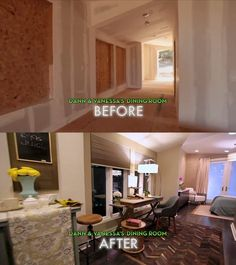 #Dreambuilders Dann and Vanessa's re-designed #diningroom. #design #renovation #homeimprovement