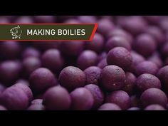 How To Make Raspberry Island Boilies - Carp Bait Recipe - YouTube