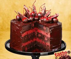 Cherry ripe cake