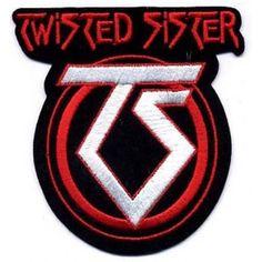 Twisted Sister - Cut out logo hihamerkki Band Jacket, Metallica, Heavy Metal, Sisters, Kiss, Logo, Bands, Music, Heavy Metal Music