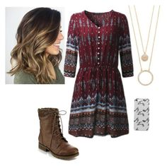 """""""Untitled #219"""" by emma-2076 ❤ liked on Polyvore featuring Kate Spade, Refresh, Music Notes and plus size dresses"""