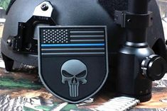 Patches For Sale, Pvc Patches, Skull Flag, Hook And Loop Fastener, Thin Blue Lines, Swat, Punisher, Arm