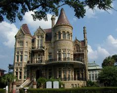 Bishops Palace in Galveston, TX. (This was visited in during my Interior Design class).