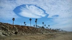 Rare 'hole punch' clouds captivate Southern California residents -- Earth Changes -- Sott.net