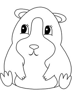 the word gerbil coloring pages | Hamster Coloring Page | Coloring Pages (and books) For All ...