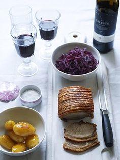 Dansk fleskestek med vin Alternative