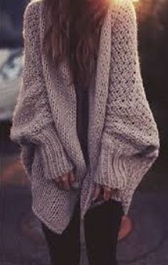 Gigantic & over sized relaxed sweater...