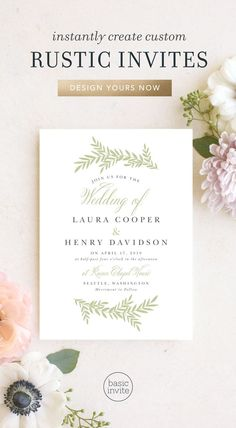 Rustic Wedding Invitations - Match Your Color & Style Free! Fall Wedding Invitations, Rustic Invitations, Wedding Stationary, Invites, Wedding Trends, Wedding Venues, Wedding Ideas, Wedding Stuff, Dream Wedding