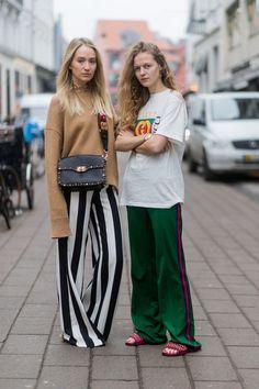 Embrace wide-leg trousers
