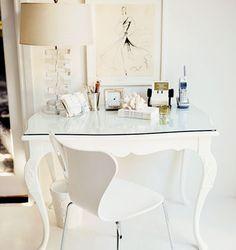 Design e Decoração- Blog de Decoração: Mesa Branca