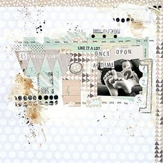 once upon a time . by mumkaa Mixed Media Scrapbooking, Kids Scrapbook, Scrapbooking Layouts, Scrapbook Pages, Digital Scrapbooking, Create Collage, Collage Art, November Colors, Book Maker