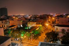 Night scene in HCMC, Vietnam. #hcmc #vietnam