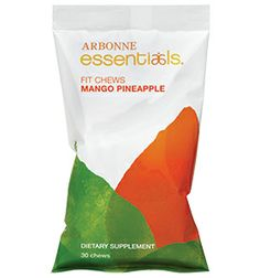 Arbonne Mango-Pineapple fit chews helps control cravings while keeping energy levels sustained. #diet #fitness #energy