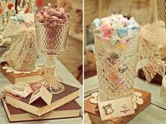 Vintage Candy Table Guest Dessert Feature | Amy Atlas Events