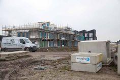 Geworteld Wonen - Rijswijk januari 2017, Hofwoningen fase 2 in aanbouw