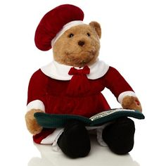 Winter Lane Story-Telling Mama Bear at HSN.com Parent Gifts, Parents, Christmas Gifts, Teddy Bear, Gift Ideas, Eyes, Winter, Animals, Dads