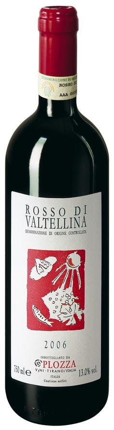 Plozza Rosso di Valtellina Varietal:  100% #Nebbiolo  Color:  Garnet red  Bouquet:  The first impression is sweet with a subtle hint of wild #berries and currants  Taste:  #Rustic, strong and well-established on the palate. Reminiscent of crushed cranberries. Finishes dry and clean.  #Food #Pairing:  Goes well with #barbecued #meat, cold cuts, #pork roast, and #bacon with beans and salami