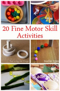 A Little Pinch of Perfect: 20 Fine Motor Skill Activities