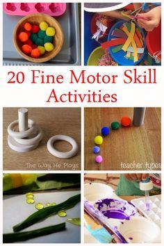 20 Fun Fine Motor Activities.