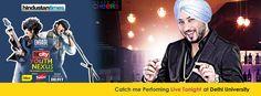 Dilbagh Singh's perfoming live at Youth Nexus 2014, Delhi University Du Fest